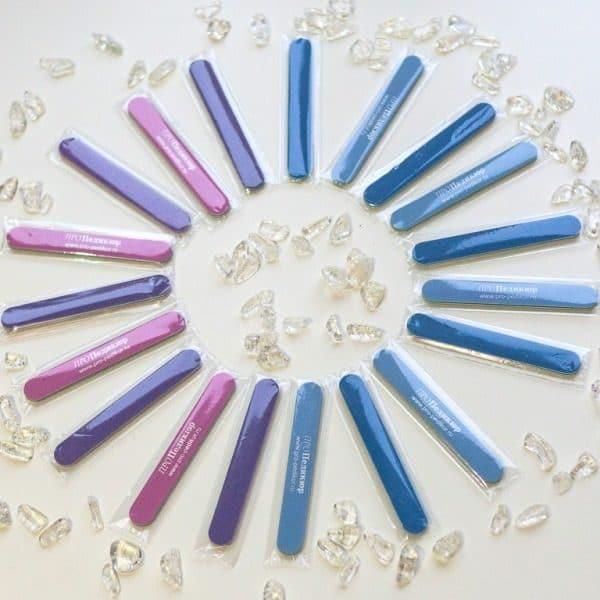 Пилочки мини в индивидуальной упаковке для ногтей