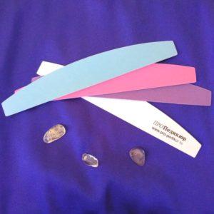Пилка для ногтей Лодочка со сменными абразивами Про Педикюр