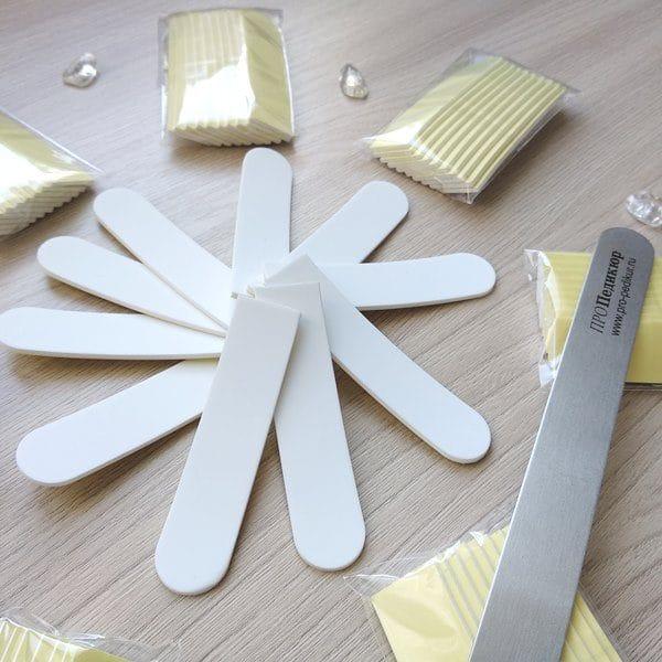Бафф 4000 грит для полировки ногтей, сменный абразив на пилку 18 см, глянцевый блеск