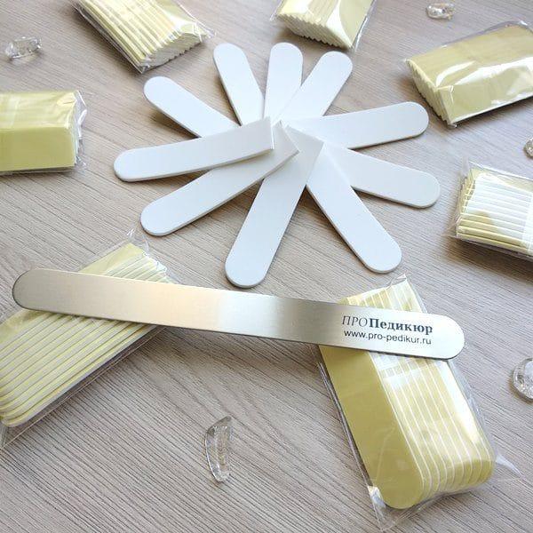 Бафф 4000 грит для полировки ногтей, сменная накладка на пилку 18 см, глянцевый блеск