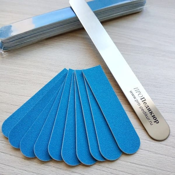 120 грит сменные одноразовые файлы 8 см половинки на металлическую пилку для ногтей