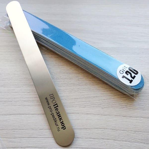 120 грит для ногтей сменные накладки на пилку ПРОПедикюр