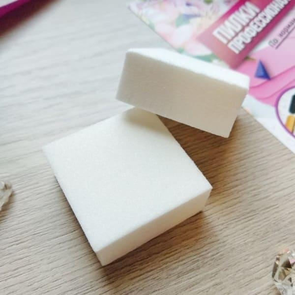 Баффы для ногтей малого размера, квадрат. Экономный размер. ПРОПедикюр
