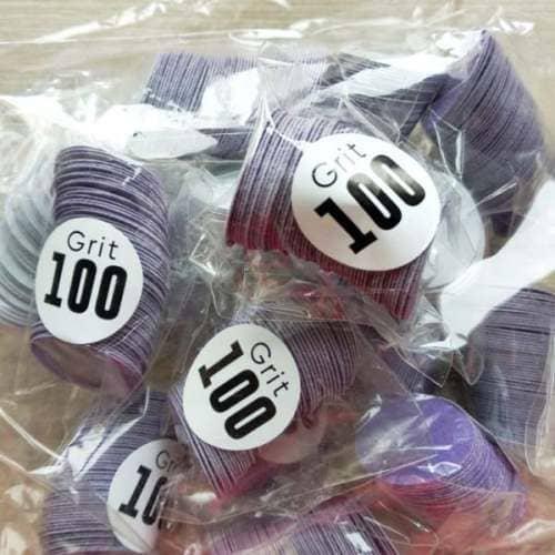 Сменные диски на клеевой основе для педикюра 100 грит Л размер с бесплатной доставкой в регионы от ПРОПедикюр